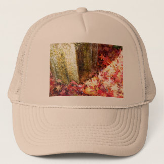 Fall color. Gold. Trucker Hat