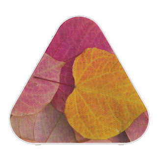 Fall color on Forest Pansy Redbud fallen Bluetooth Speaker