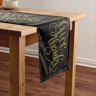 Fall Color paisley-Give Thanks Swirly Text