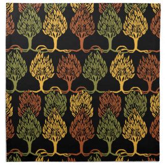Fall Color Trees Napkin