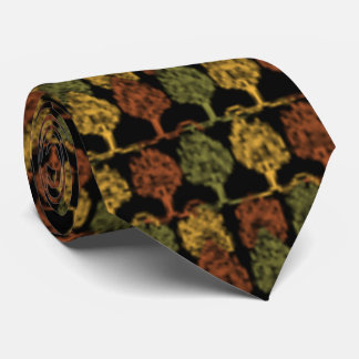 Fall Color Trees Tie