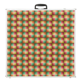Fall Color Weave Pong Table