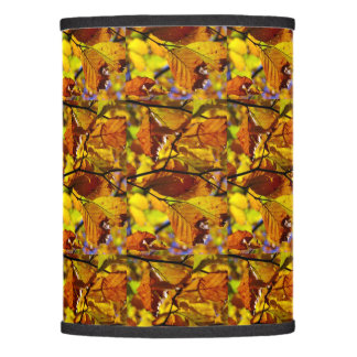 Fall colored leaves Extra table lamp shade