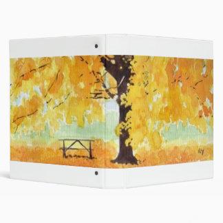 Fall Colors 3 Ring Binder