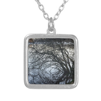 Fall Colors And Reflections Personalized Necklace