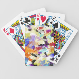 Fall Colors Bicycle Playing Cards