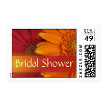 Fall Colors Bridal Shower Postage