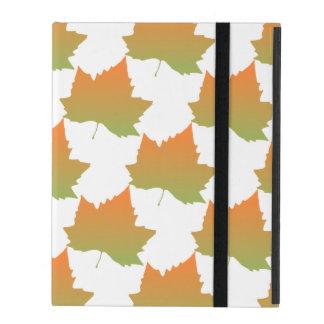 Fall Colors Canadian Maple Leaf Autumn Season iPad Case