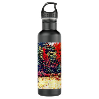 Fall Colors in New England Water Bottle