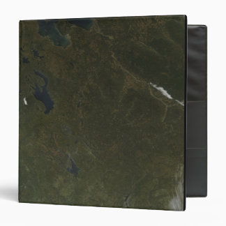 Fall colors in northwestern Russia 3 Ring Binder