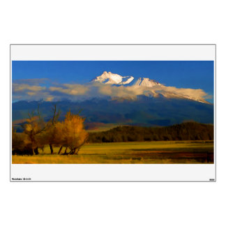 FALL COLORS IN SHASTA VALLEY WALL STICKER