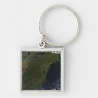 Fall colors in the northeastern United States Keychain