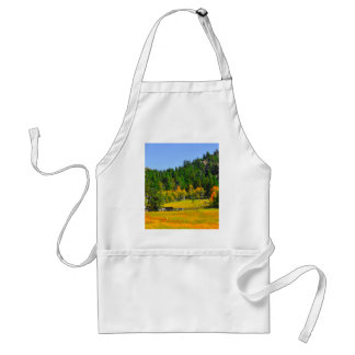 Fall colors in the Rockies Adult Apron