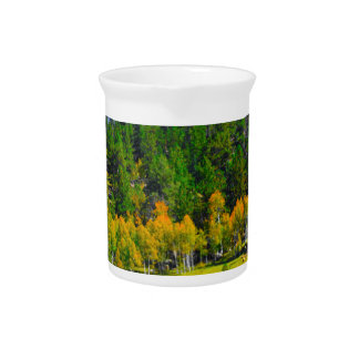Fall colors in the Rockies Drink Pitcher