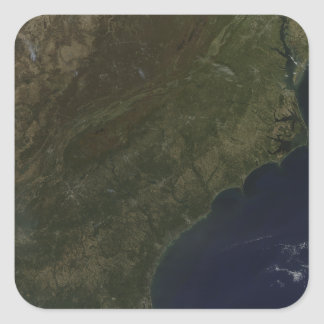 Fall colors in the southeastern United States Square Sticker