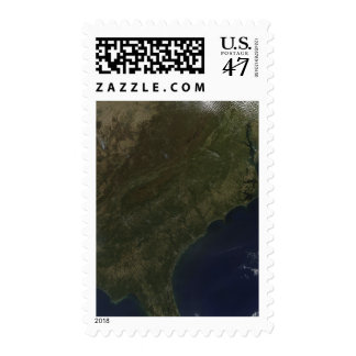 Fall colors in the southeastern United States Stamp