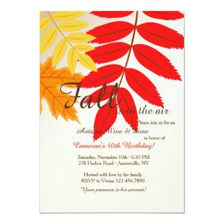Fall Colors Invitation