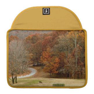 Fall Colors Landscape Autumn Trees Leaves Deer MacBook Pro Sleeve