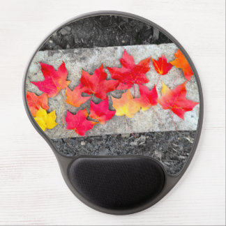 Fall Colors Maple Leaves Thanksgiving Mousepad Gel Mouse Pad