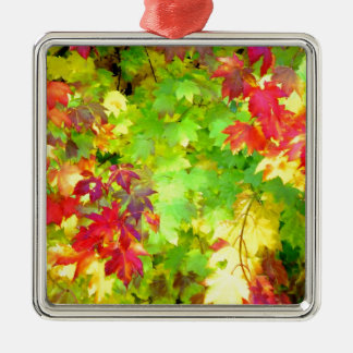 """Fall Colors"" Metal Ornament"