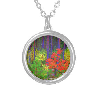 Fall colors custom necklace