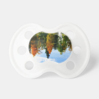 Fall colors pacifier