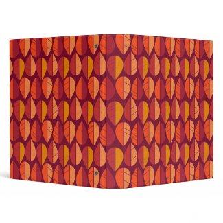 Fall Colors Pattern binder
