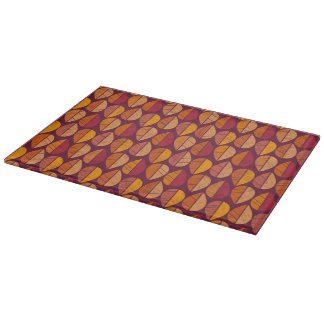 Fall Colors Pattern Cutting Boards