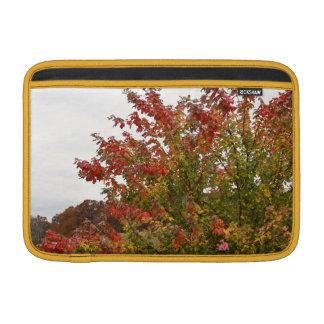 Fall Colors Photo Autumn Trees Leaves MacBook Sleeve