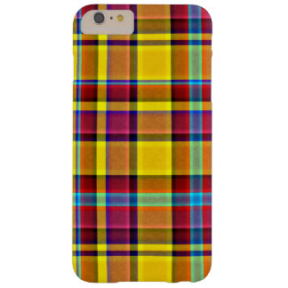 Fall Colors Plaid Tartan Barely There iPhone 6 Plus Case