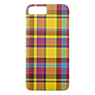 Fall Colors Plaid Tartan iPhone 7 Plus Case
