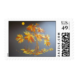 """""""Fall Colors"""" Stamp"""