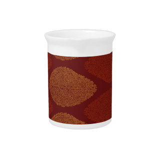 Fall Colors Remembered Drink Pitcher