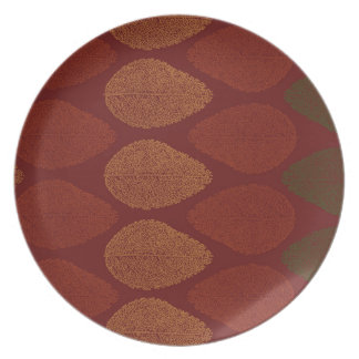 Fall Colors Remembered Plate