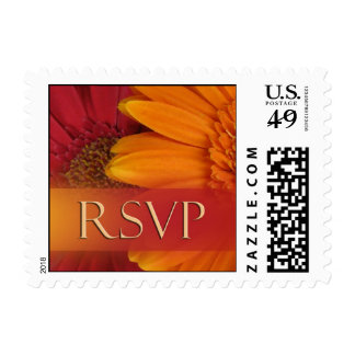 Fall colors RSVP Postage