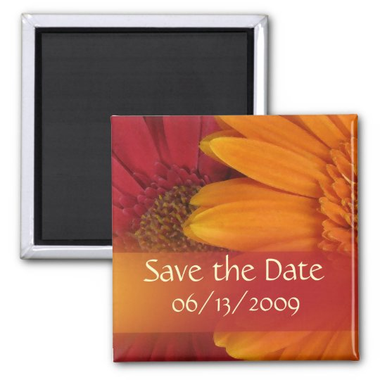 Fall colors - Save the Date Magnet