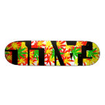 Fall Colors. Skate Boards