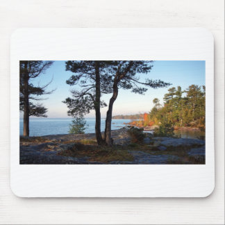 Fall Colors St Joseph Island stopover Mouse Pad