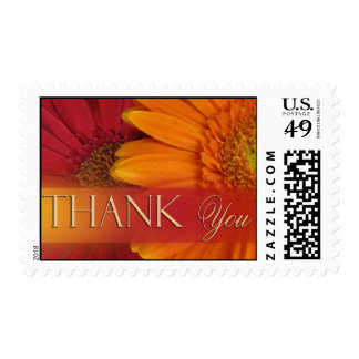 Fall colors - thank you postage