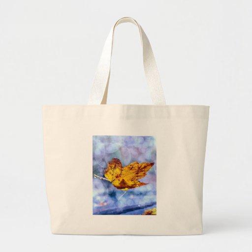 Fall colors tote bags