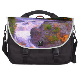 Fall Colors Waterfall Laptop Bag