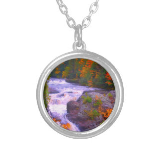 Fall Colors Waterfall Necklaces