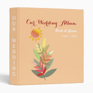 Fall Colors Wedding Binder