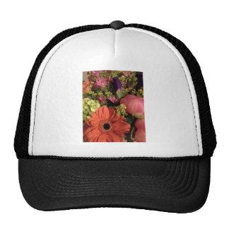 fall colours bouquet trucker hat