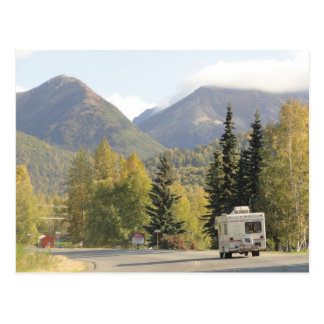 Fall Comes to the Chugach Mountains in Alaska Post Postcard
