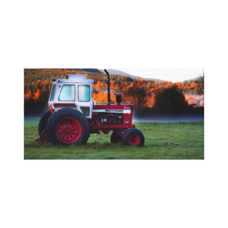 Fall comes to the Farm Canvas Print