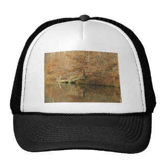Fall Country Fishing Trucker Hat