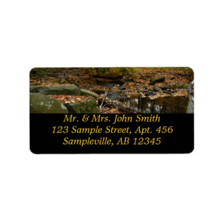 Fall Creek and Reflection Address Label