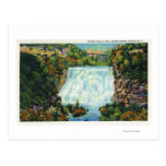 Fall Creek Gorge View, Ithaca Falls Scene Postcards
