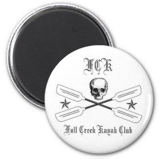 Fall Creek Kayak Club Magnet